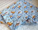 """Одеяло из овечьей шерсти демисезонное """"Мишка"""", фото 4"""