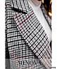 Женское кашемировое пальто в крупную клетку больших размеров, фото 3