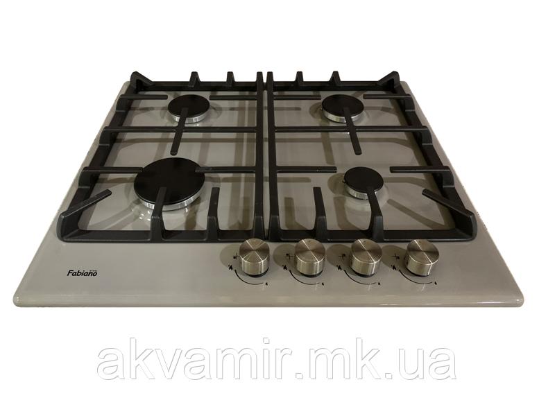 Варочная панель Fabiano FHG 3044 VGH Inox (нерж. сталь) газовая