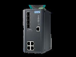 EKI-7708G-4F-AE, управляемый коммутатор Ethernet, 4 порта 10/100/1000BaseT(X), 4 порта Gigabit SFP, -10...+60C