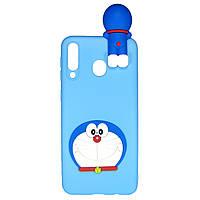 Чехол Cartoon 3D Case для Samsung Galaxy A8s Кот