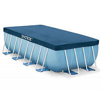 Intex Тент 28037  для прямоугольный бассейнов 400-200см  Rectangular Frame Синий