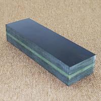 Брусок Микарта № 95250 синт.ткань черно - оливков 25х40х130 мм.
