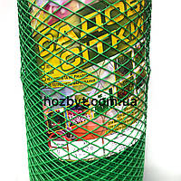 Забор пластиковый, ячейка ромб 20х20мм. рул. 1х20м. КЛЕВЕР (сетка садовая)