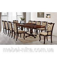 Комплект столовий ЛІСАБОН (Стіл+6стульев+2 крісла)