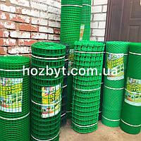 Забор пластиковый, ячейка 10х10мм. рул. 1х20м. КЛЕВЕР (сетка садовая)