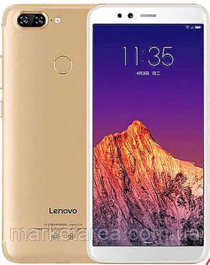 Смартфон леново с большим дисплеем и двойной камерой на 2 sim Lenovo S5 K520 gold 4/64Gb