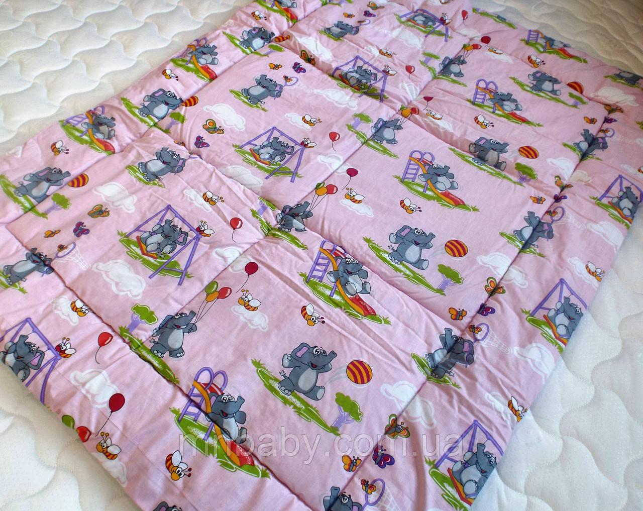 """Одеяло из овечьей шерсти демисезонное """"Слоник"""""""
