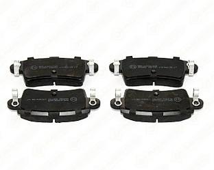 Дискові гальмівні колодки (задні) на Renault Master II 1998->2010 — ABE - C2X011ABE