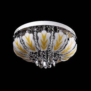 "Люстра ""торт - классика"" с LED подсветкой на пульте управления на 6 лампочек P5-Y1492/6/CH"