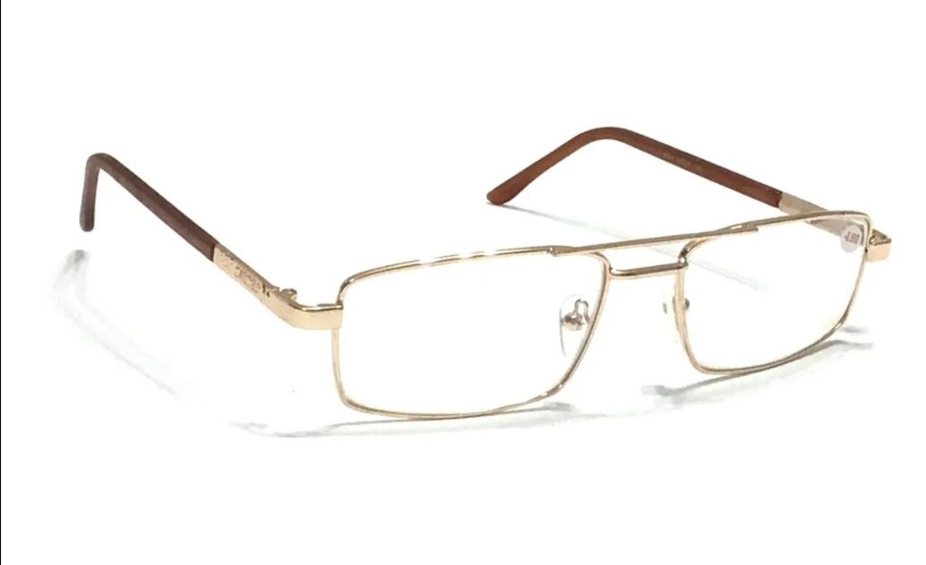 Очки для зрения с двойной перемычкой, стекло универсальные