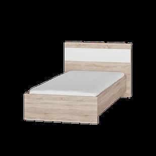 Детская кровать Соната 900 Эверест Дуб сонома/белый