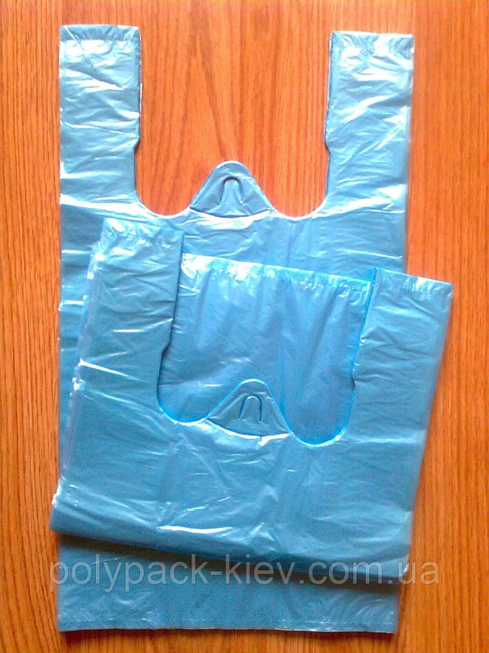 Пакеты-майка супер 25х43 см/12 мкм, прочные фасовочные пакеты, пакет упаковочный кульки от производителя оптом