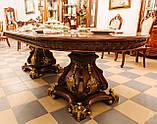 Столовый комплект ПАРИЖ (Стол +6стульев+2кресла, фото 5