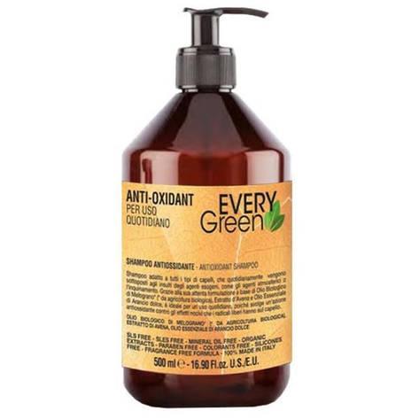 Dikson Every Green Anti-Oxidant Shampoo - Анти-оксидантный шампунь для ежедневного применения, 500 ml, фото 2