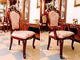 Столовый комплект ПАРИЖ (Стол +6стульев+2кресла, фото 8