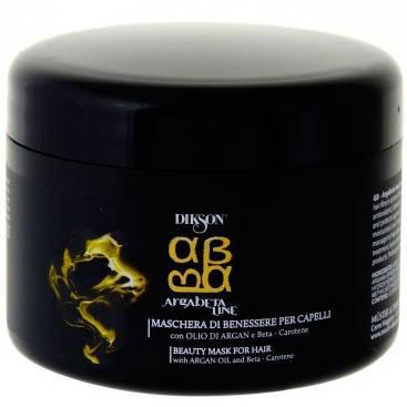 Dikson ArgaBeta Line Beauty Mask - Восстанавливающая, питательная маска с бета-каротином и маслом Арганы, 250 ml, фото 2