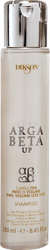 Dikson Argabeta Up Shampoo Capelli Di Volume - Відновлюючий шампунь для тонкого волосся, позбавленого об'єму волосся, 250 ml