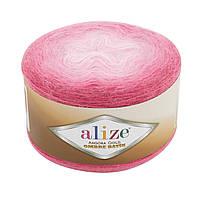 Alize Angora Gold Ombre Batik № 7357 розовий, фото 1