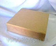 Шкатулка квадратная без петель 20х20х5 мдф заготовка для декора №040