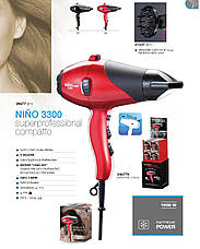 "Dikson Muster Phon Asciugac.Compakt ""Nino Nero"" - Компактный фен для волос, фото 3"