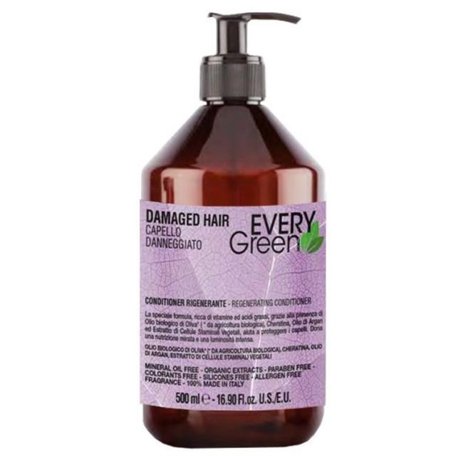 Dikson Every Green Damager HairConder Rigenerante - Кондиционер для поврежденных волос, 500 ml