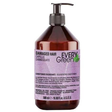 Dikson Every Green Damager HairConder Rigenerante - Кондиционер для поврежденных волос, 500 ml, фото 2