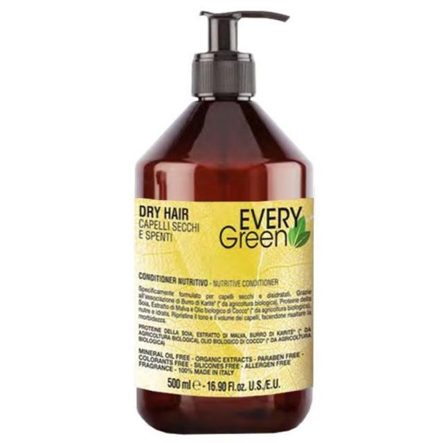 Dikson Every Green Dry Hair Nutritive Conditioner - Кондиционер для сухих волос, 500 ml