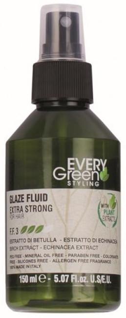 Dikson Every Green Glaze Fluid Extra-Strong - Крем-блеск для волос экстрасильной фиксации, 150 ml