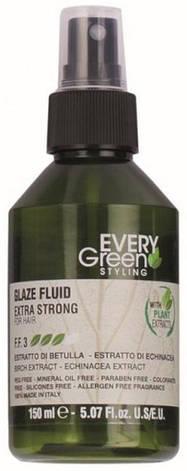 Dikson Every Green Glaze Fluid Extra-Strong - Крем-блеск для волос экстрасильной фиксации, 150 ml, фото 2