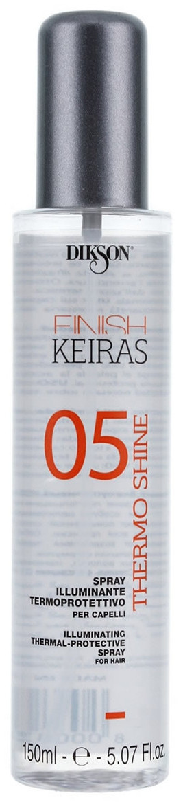Dikson Keiras Finish Spray Thermo Shine 05 - Спрей-термозащита с блеском, 150 ml