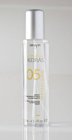 Dikson Keiras Finish Spray Thermo Shine 05 - Спрей-термозащита с блеском, 150 ml, фото 2