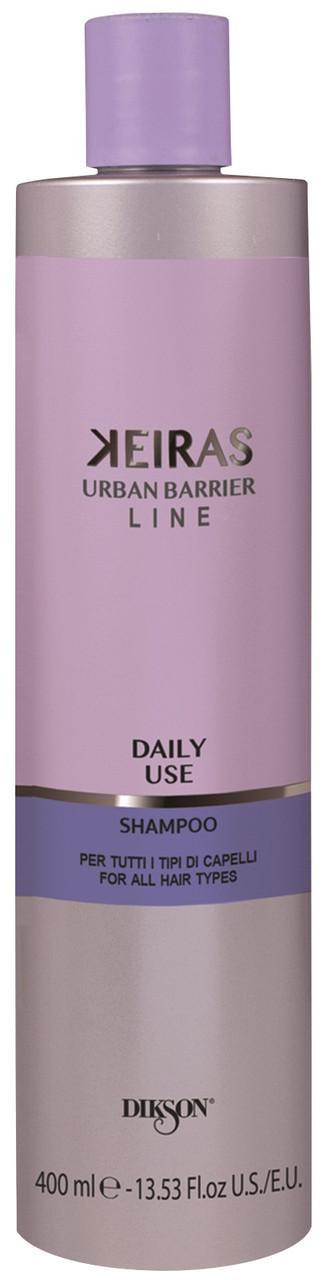 Dikson Keiras Urban Barrier Daily Use Shampoo - Шампунь для ежедневного применения для всех типов волос, 400 ml