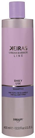 Dikson Keiras Urban Barrier Daily Use Shampoo - Шампунь для ежедневного применения для всех типов волос, 400 ml, фото 2
