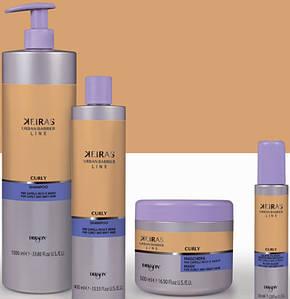 Dikson Keiras Urban Barrier Curly Shampoo - Шампунь для кудрявых и пористых волос, 400 ml, фото 2
