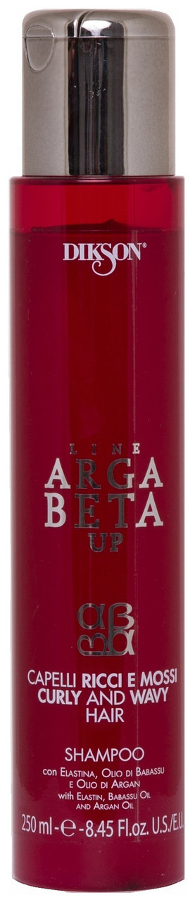 Dikson Argabeta Up Shampoo Per Capelli Ricci e Mossi - Шампунь для кудрявых, пористых и сухих волос, 250 ml