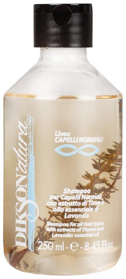 Dikson Natura Shampoo Normali - Шампунь для нормальных волос с экстрактом тимьяна, 250 ml