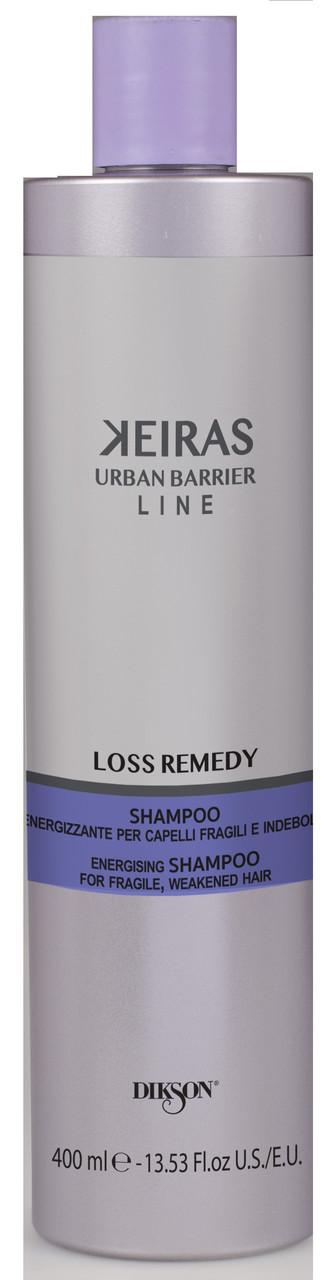 Dikson Keiras Urban Barrier Loss Remedy - Шампунь против выпадения, для стимулирования роста волос, 400 ml