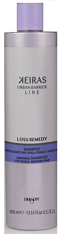 Dikson Keiras Urban Barrier Loss Remedy - Шампунь против выпадения, для стимулирования роста волос, 400 ml, фото 2