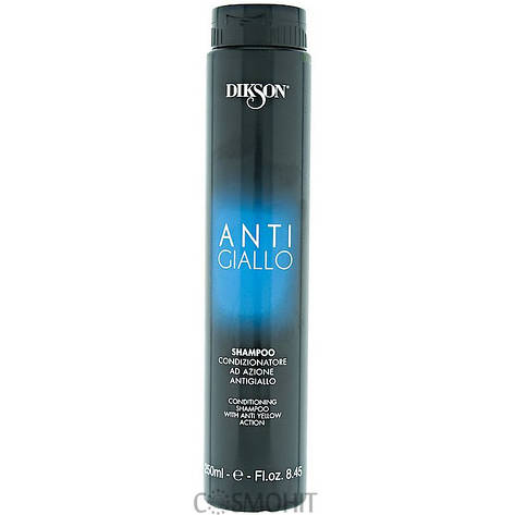 Dikson Antigiallo Shampoo - Шампунь против желтизны волос, 250 ml, фото 2
