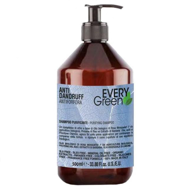 Dikson Every Green Purifikante Shampoo - Шампунь против перхоти, 500 ml