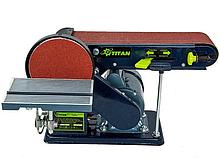 Стрічково-дисковий шліфувальний верстат Титан KSM400 (КСМ400)