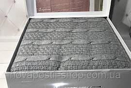 Вязаный плед Gelin Home Erguvan серый 220x240