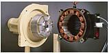 Гвинтовий маслозаповнений компресор із змінною швидкістю модель R132-160ne, фото 4