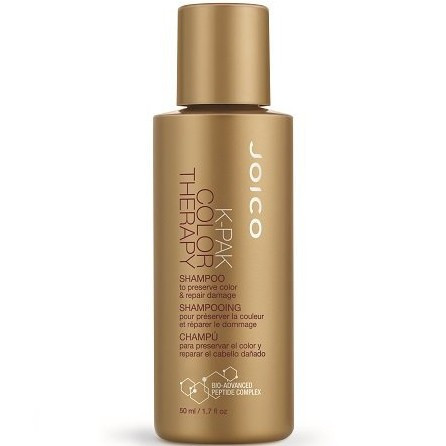Joico K-Pak Color Therapy Shampoo - Шампунь восстанавливающий для окрашенных волос, 50 ml