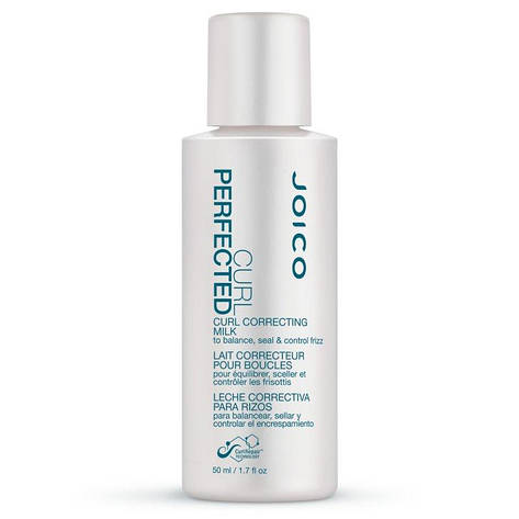 Joico Curl Perfected Curl Correcting Milk - Молочко несмываемое для расчесывания кудрявых волос, 50 ml, фото 2