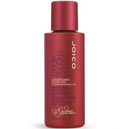 Joico Color Endure Violet Conditioner For Toning Blonde Or Gray Hair - Кондиционер фиолетовый для осветленных/седых волос, 50 ml