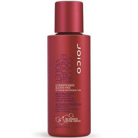 Joico Color Endure Violet Conditioner For Toning Blonde Or Gray Hair - Кондиционер фиолетовый для осветленных/седых волос, 50 ml, фото 2