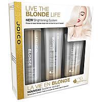 Joico Blonde Life Brightening Set - Подарочный набор для сохранения яркости блонда