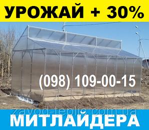 МИТЛАЙДЕРА ТЕПЛИЦА 6х10 с Поликарбонатом 4мм